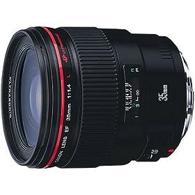【クリックでお店のこの商品のページへ】Canon EFレンズ EF35mm F1.4L USM 単焦点レンズ 広角