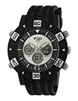 Maxima Ego Analog-Digital Black Dial Men's Watch - E-35092PPAN