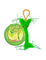 GIANTmicrobes Nerve Cell Plush Keychain