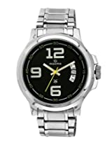 Maxima Analog Black Dial Men's Watch - 24824CMGI