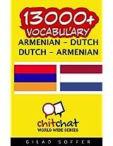 13000+ Armenian - Dutch, Dutch - Armenian Vocabulary
