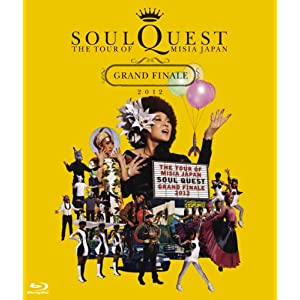 THE TOUR OF MISIA JAPAN SOUL QUEST -GRAND FINALE 2012 IN YOKOHAMA ARENA-