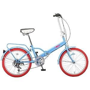 自転車の 自転車 カラータイヤ 20インチ : ) 20インチシマノ6段変速カラー ...