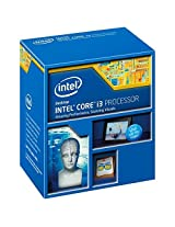 Intel Core i3-4160 Haswell Processor (3M Cache, 3.60 GHz, LGA 1150, 54Watt) - 4th Generation New for H97 & Z97 Chipset Boards
