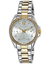 Giordano Analog Silver Dial Women's Watch - 2715-55