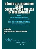 Codigo de Legislacion Sobre Contratacion Publica
