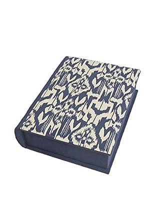 Three Hands Ikat Fabric Book Box