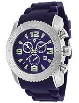Men'S Commander Chronograph Purple Dial Purple Silicone (10067-011)