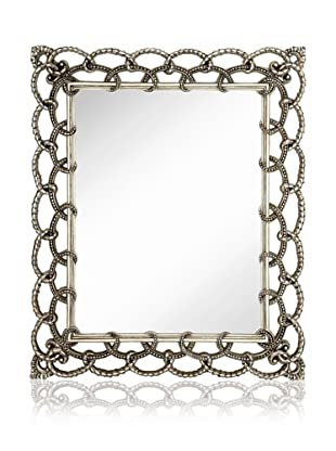 Majestic Mirrors Hardy Mirror (Antique Silver)