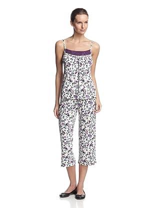TART Women's Ami & Crop Pant Set (Floral To Spur)