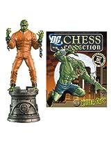 Batman Killer Croc Black Rook Chess Piece with Magazine