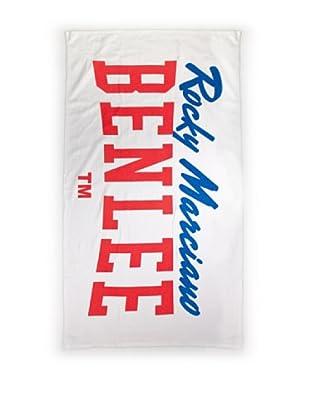 Benlee Toalla Logo Big Fitness (Blanco)