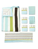 One Grace Place Puppy Pal Boy Full  Bedding Set, 8 Piece