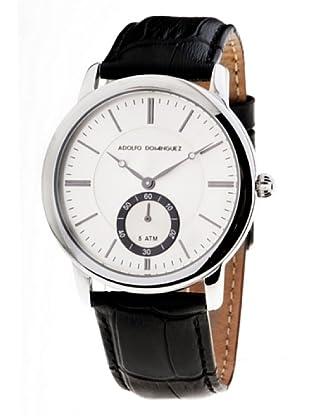 Adolfo Dominguez Watches 52010 - Reloj de Caballero cuarzo correa piel Negro