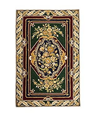 RugSense Teppich Chain Stitch mehrfarbig 153 x 92 cm