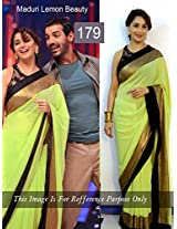 Madhuri Dixit Gorgeous Olive Green Saree At Jhalak Dikhhla Jaa 6