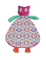 Maison Chic Blankie, Pink Owl (Discontinued by Manufacturer)