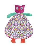 Maison Chic Blankie, Pink Owl