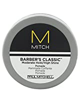 Paul Mitchell Barbers Classic Moderate Hold High Shine Pomade For Men 0.35 Oz