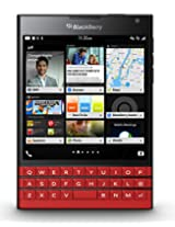 BlackBerry Passport Factory Unlocked Cellphone, Red (U.S. Warranty)