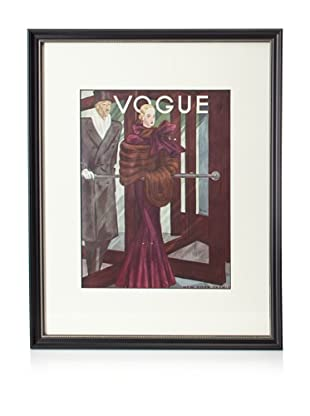 Original Vogue Cover from 1933 by Georges Lepape