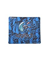 Generic Logitech Mouse Pad(Blue)