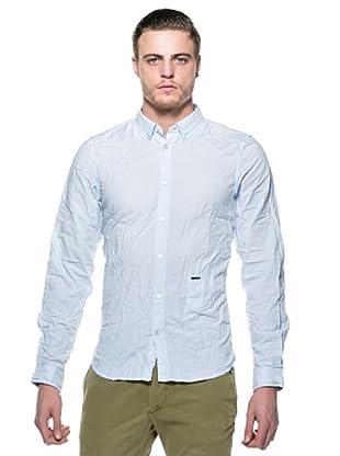 Diesel Camisa Sdany (Blanco / Celeste)