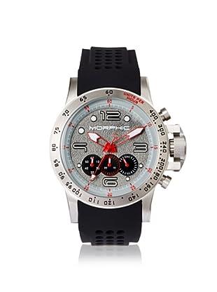 Morphic Men's 2302 M23 Series Black/Grey Silicone Watch