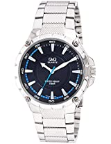 Q&Q Regular Analog Black Dial Men's Watch - Q960J202Y