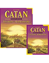 Catan Traders & Barbarians Plus 5 & 6 Player Extension 5th Edition Board Game