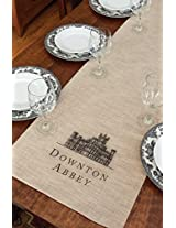 Downton Abbey Table Runner (16 X 72 ) Natural From the Castle Collection
