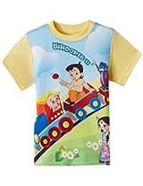 Chhota Bheem Boy's Cotton T-Shirt