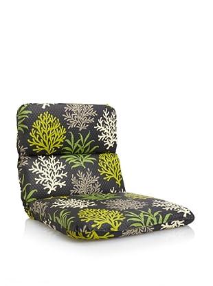 Waverly Sun-n-Shade Marine Life Rounded Chair Cushion (Onyx)