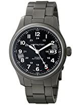 Hamilton Men's HML-H70565133 Khaki Field Black Dial Watch