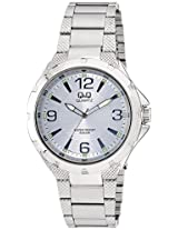 Q&Q Regular Analog Silver Dial Men's Watch - Q964J204Y