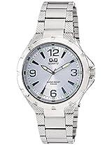 Q&Q Regular Analog Silver Dial Men's Watch - Q964J204Y