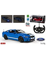 Rastar 1:14 Remote Control Ford Shelby GT500, Color May Vary