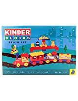Peacock- Kinder Blocks Senior Train Set