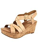 Clarks Women's Perfect Cheryl Nude Fashion Sandals