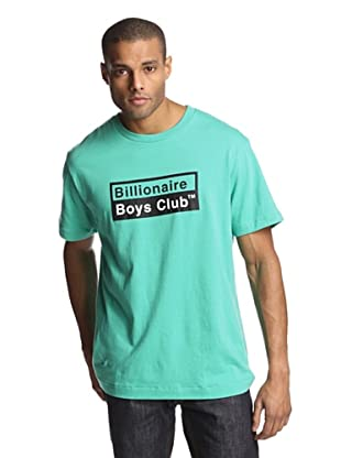 Billionaire Boys Club Men's Short Sleeve Chemical Logo T-Shirt (Marine Green)