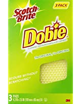 Scotch-Brite Dobie All-Purpose Pads, 3-Count (Pack of 8)
