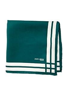 Joseph Abboud Men's Stripes Pocket Square, Green