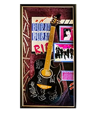 Signed Duran Duran Guitar