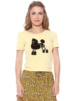 Divina Providencia Camiseta Perro (Amarillo)