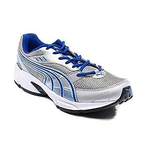 Puma Men's Atom Silver-Blue Polyurathane Shoes Size 11