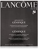 Lancome Advanced Genifique Youth Activating Skin Care Power Of 3 All Skin Types ,night cream 1.7 oz,eye cream 0.5 & Youth Activating concentrate 1.69 oz.