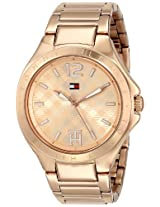 Tommy Hilfiger Women's 1781384 Rose Gold-Tone Watch
