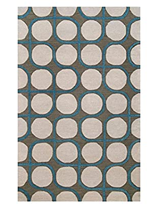 nuLOOM Hand-Looped Geometric Jerald Rug
