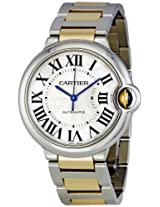 Cartier Men's W6920047 Ballon Bleu Steel and 18kt Gold Watch