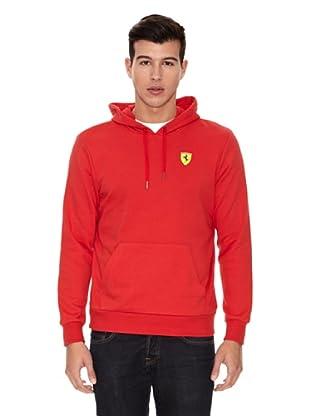 Ferrari Sudadera  Hooded (Rojo)